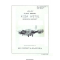 X-22A V/Stol Research Aircraft Utility Flight Manual/POH 1969 $5.95