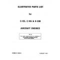 Continental Parts Manuals