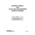 Continental Overhaul Manual X-30030A IO-TSIO-360 Series $13.95