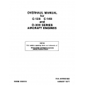 Continental Overhaul Manual X30013 C-125, C-145 & O-300 $13.95
