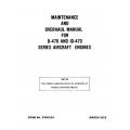 Continental Overhaul Manual X30022A O-470 & IO-470 $13.95