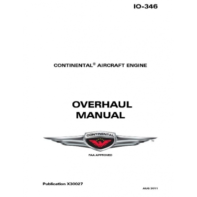 continental overhaul manual