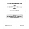 Continental Parts Catalog X30031A IO-TSIO-LTSIO-360 Series $13.95