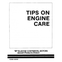 Continental  X30548 Tips on Engine Care $6.95