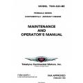 Continental Model TSIO-520-BE Permold Series Maintenance & Operator's Manual X30570-1