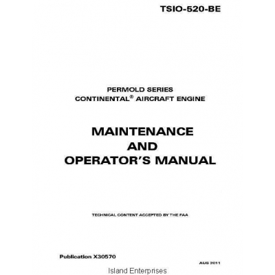 Tsio 520 maintenance Manual download