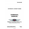 Continental Model TSIO-360-RB Overhaul Manual X30596A Supplement 1 $19.95