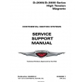 Continental  Service Support Manual pulication # X42003-3 $24.95