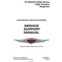 Continental  D-2000/D-3000 Series High Tension Magneto# X42003-3 $24.95