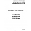 Continental Ignition/Starter Switches and Door Lock Kits Service Support Manual X43002-1 $19.95