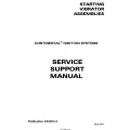 Continental Starting Vibrator Assemblies Service Support Manual X43003-2 $12.95