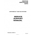 Continental Service Support Manual Ignition Application X44001-3 $12.95