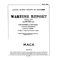 NACA XP-51 Airplane Flight Measurements of the Drag Characteristics Wartime Report $2.95