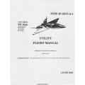 Northrop YF-23A USAF Series Aircraft NTM 1F-23-(Y)A-1 Utility Flight Manual/POH 1990