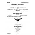 YFM-1 & YFM-1B Handbook of Instructions of Operation & Flight Instructions