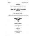 Bell Helicopter YFM-1A Multi-Place Fighter Handbook of Operation & Flight Instructions $8.95