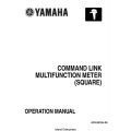 Yamaha 6Y8-2819U-00 Command Link Multifunction Meter Square Operation Manual 2005 $5.95