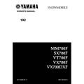 Yamaha MM700F, SX700F, VT700F, VX700F, VX700DXF Snowmobile LIT-12628-02-17 Owner's Manual 2000