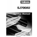 Yamaha SJ700AU Service and Maintenance Manual 1996 $9.95