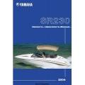 Yamaha SR230 Sport Boat SRT1000B/BC LIT-18626-05-66 Owner's & Operator's Manual 2003 - 2004 $5.95