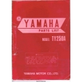 Yamaha TY250A Motorcycle LIT-10014-34-00 Parts Manual 1973 $9.95