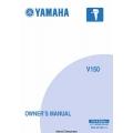 Yamaha V150 Outboard Motor LIT-18626-06-99 Owner's Manual 2006 $5.95