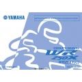 Yamaha WR 250X WR25XY(C) Motorcycle LIT-11626-22-63 Owner's & Maintenance Manual 2008