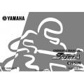 Yamaha ZUMA Sports Scoot CW50N Motorcycle LIT-11626-14-16 Owner's Manual 2000