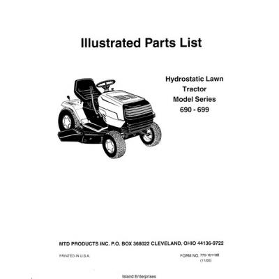 yard machine lawn tractor parts