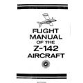 Z-142 Aircraft Flight Manual/POH 1989