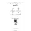 ZAI Edge 540-T Pilot' Operating Handbook and Flight Manual 2001 - 2003
