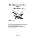 Zenith Stol CH 701 Pilots Operating Handbook 2005 - 2008 $4.95