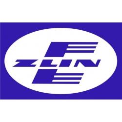 """Zlin Decal/Vinyl Sticker 11"""" wide by 6.99"""" high"""