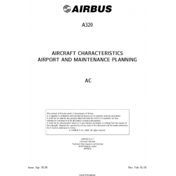 Airbus A320 Aircraft Characteristics Airport and Maintenance Planning Ac 2018 $19.95