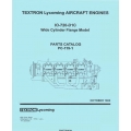 Lycoming IO-720-D1C Aircraft Engines Wide Cylinder Flange Model Parts Catalog PC-119-1 $9.95
