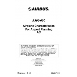 Airbus A300-600 Airplane Characteristics for Airport Planning AC 2009 $13.95
