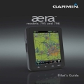 Garmin Aera Models 795 and 796 Pilot's Guide 190-01194-00 2012 $9.95