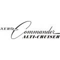 Aero-Commander Alti-Cruiser Aircraft Decal/Sticker