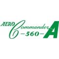 Aero-Commander 560A Aircraft Logo,Decals!