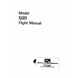 Aero Commander 500 Flight Manual POH  $2.95