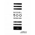 Aero Commander 500 Maintenance Manual $13.95