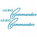 Aero-Commander Aircraft Decal/Sticker