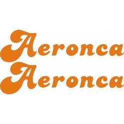 Aeronca Aircraft Logo,Decal/Sticker 3''h x 11.5''w!