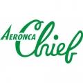 Aeronca Chief Aircraft Logo,Decal/Sticker 7 7/8''w x 4 3/4''h!