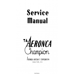 Aeronca 7A Champion Service Manual