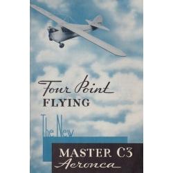 Aeronca C3 Four Point Flying $2.95
