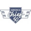 Aeronca Chief 50 Aircraft Decal,Sticker/Vinyl Graphics 11.5''w x 4 7/8''h!