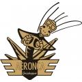 Aeronca Grasshopper Aircraft Logo/Decal 10''w x 9.5''h!