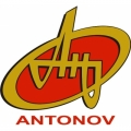 "Antonov Aircraft Decal/Vinyl Sticker 5"" high by 5.5"" wide!"
