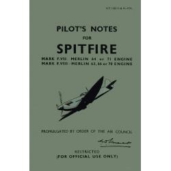 Pilot's Notes for Spitfire December 1943